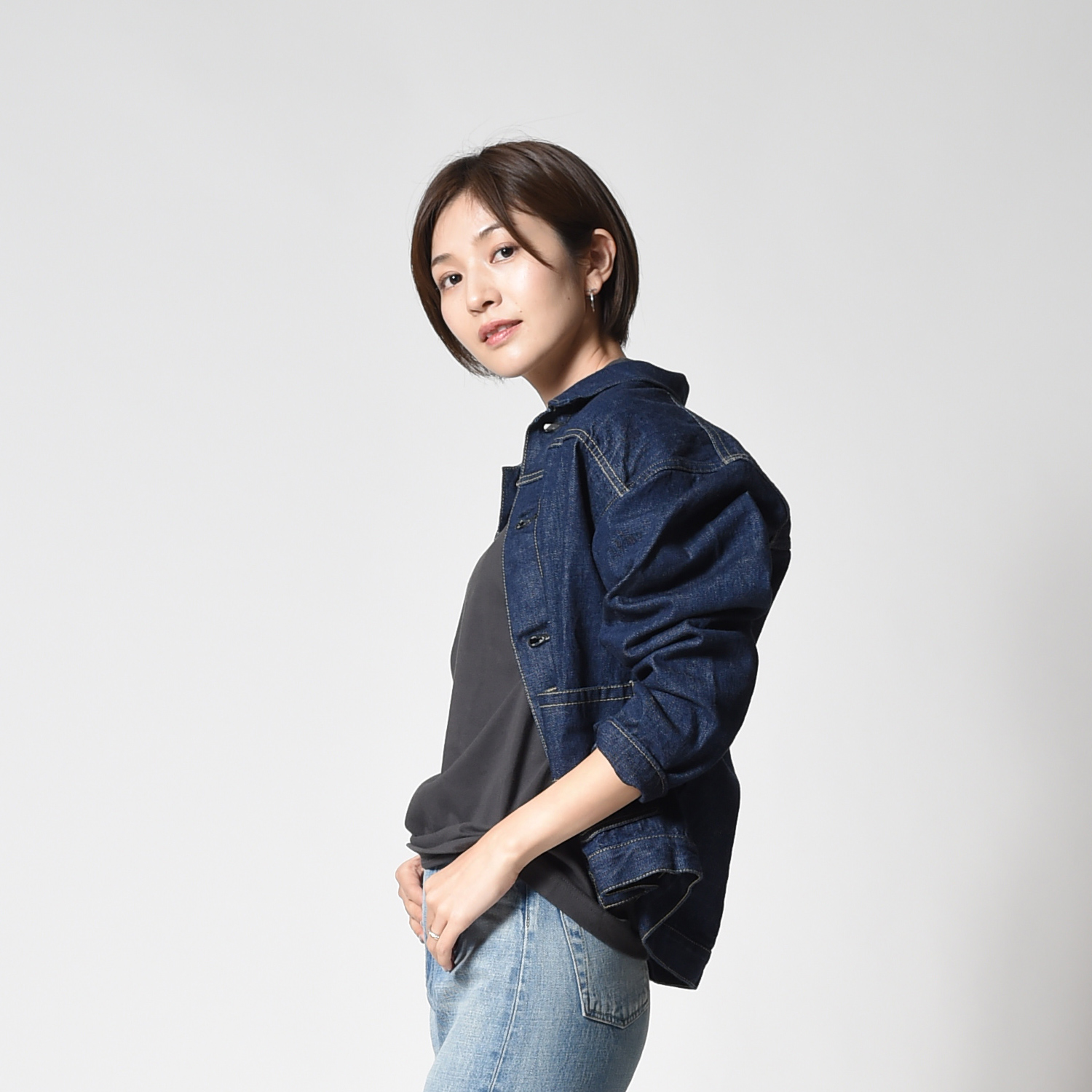 CEUEU Original Selvedge Denim Jacket Type zero Womens